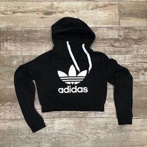 Adidas | Crop Hoodie
